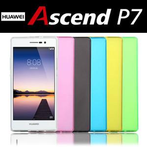 Huawei Ascend P7 シリコンケース カバー スマホケース ソフトケース