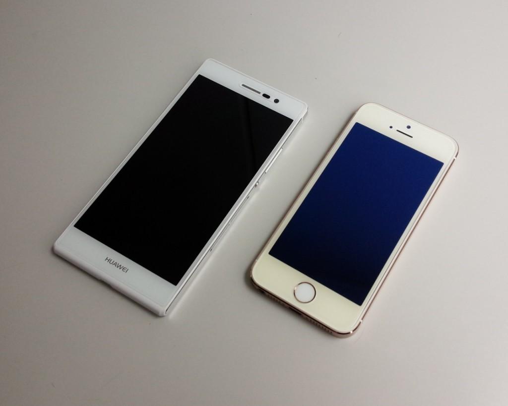 Ascend P7 / iPhone 5s