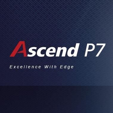 Ascend P7 設定画面全容